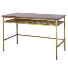 Walter KD Desk, Dark Brown