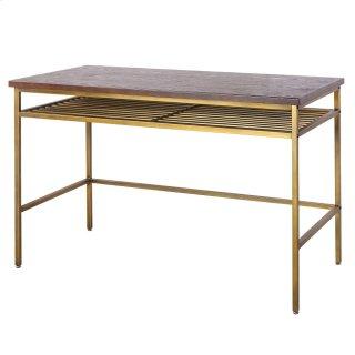 Walter KD Desk, Dark Brown