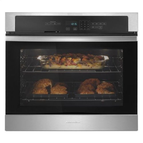 Amana® 4.3 cu. ft. SIngle Thermal Wall Oven - Stainless Steel