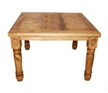 """48"""" Square Table W/star Legs"""