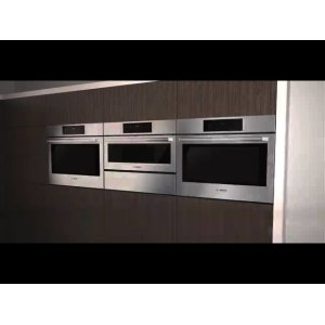 Benchmark® built-in oven with steam-function 30'' Stainless steel HSLP451UC
