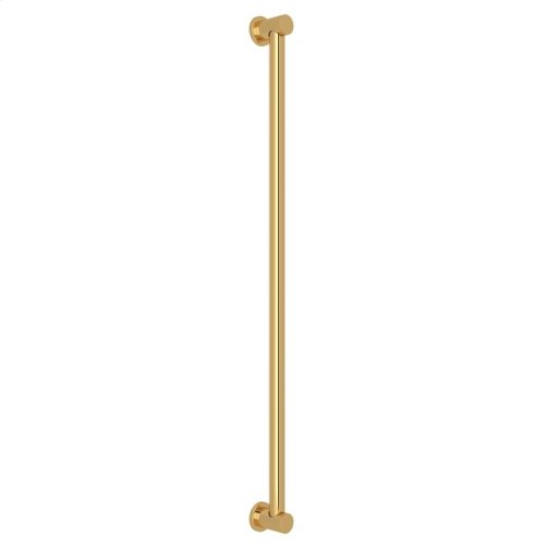 "Italian Brass 42"" Decorative Grab Bar"