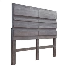 Cavin Headboard Queen Old Gray