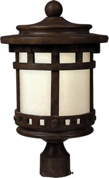 Santa Barbara LED 1-Light Outdoor Pole/Post Lanter