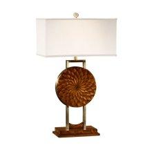 Pangolin Zebrano Table Lamp