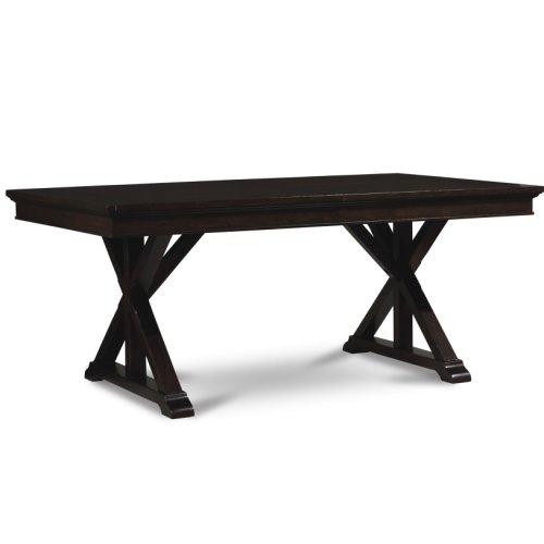 Thatcher 7 Piece Trestle Table Set