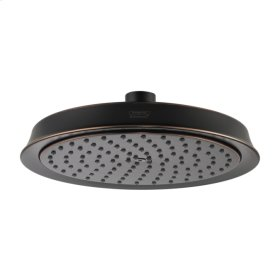 Rubbed Bronze Raindance C 180 AIR 1-Jet Showerhead, 2.5 GPM