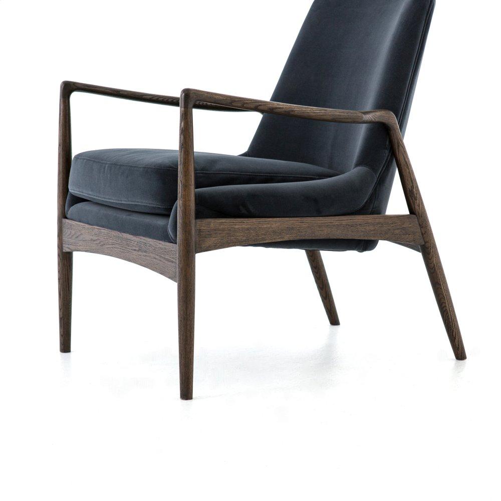 Hidden · Additional Braden Chair Modern Velvet Shadow