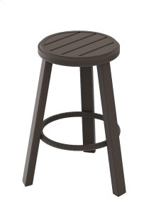 "Banchetto 28"" Backless Stationary Bar Stool"