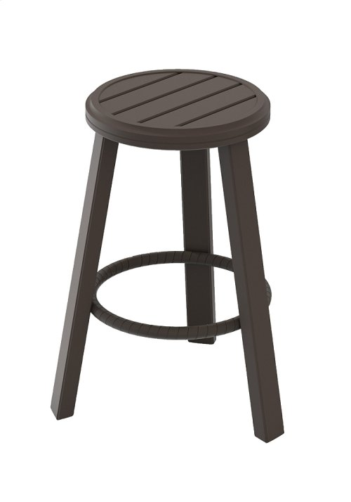"Banchetto 25"" Backless Stationary Bar Stool"