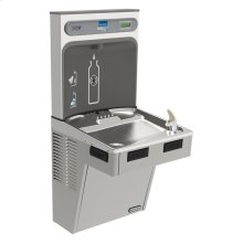 Elkay EZH2O Bottle Filling Station with Single ADA Cooler, Non-Filtered 8 GPH Light Gray