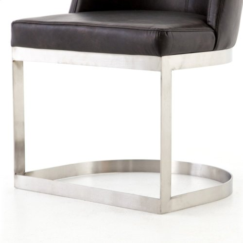 Distressed Black Cover Wexler Dining Chair