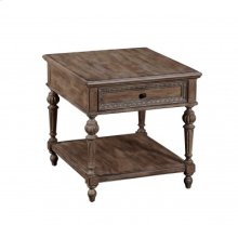 Eva Rectangular End Table