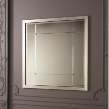 Beaumont Square Mirror-Silver Leaf