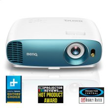 4K HDR Projector with 3000 lumens for Bright Rooms  TK800