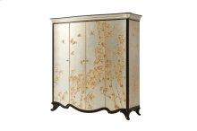 Double Argento Armoire Cabinet - Argento