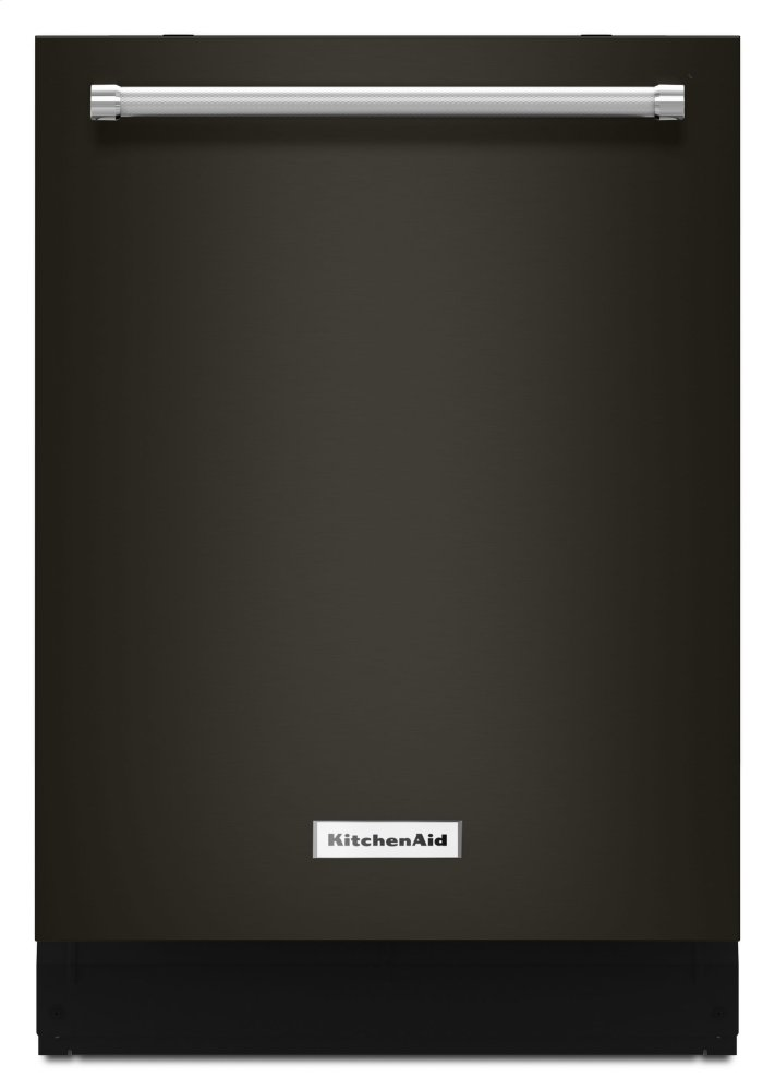 Kitchenaid Black44 Dba Dishwasher With Clean Water Wash System - Black Stainless Steel With Printshield™ Finish