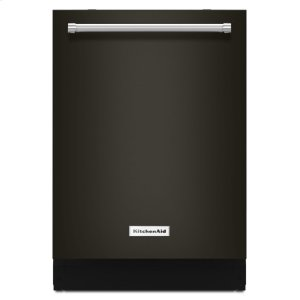 44 dBA Dishwasher with Clean Water Wash System - Black Stainless -