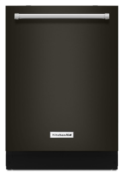 44 dBA Dishwasher with Clean Water Wash System - Black Stainless