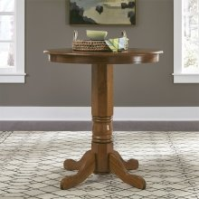 Round Pub Table Top