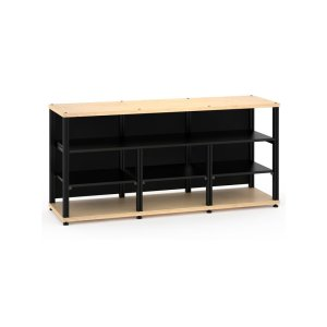 Salamander DesignsSynergy 30 Triple-Width Core Module with Center Opening, Maple with Black Posts