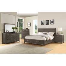 Katy King Storage Bed