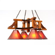 Western Traditions - Dove Creek Chandelier