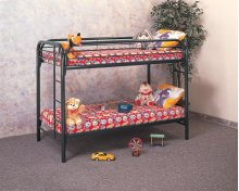 Twin/Twin Metal Bunkbed