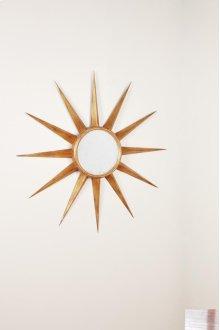 Star Mirror, Gold Leaf