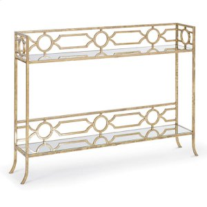 Regina AndrewGeometric Shelf Console Table