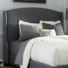 Queen Wing Shelter Headboard