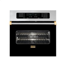 """30"""" Single Custom Electric Touch Control Select Oven, Brass Accent"""