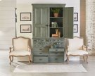 File Cabinet Armoire With Reverie Accent Chairs Product Image