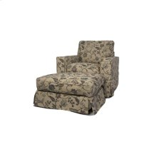 Sunset Trading Americana Slipcovered Chair in Saratoga Spa