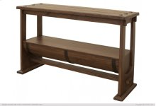 Barrel Sofa Table