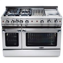 "Precision 48"" Gas Self Clean Range"