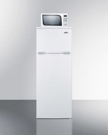 Refrigerator-freezer-microwave Combination Unit With Cycle Defrost In Slim Width