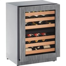 """24"""" 2000 Series Wine Captain, Right Hand Door, Integrated Frame"""