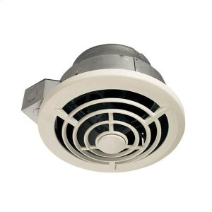 Ceiling Mount Utility Fan with Vertical Discharge, 210CFM; Ventilation Fans Product Image