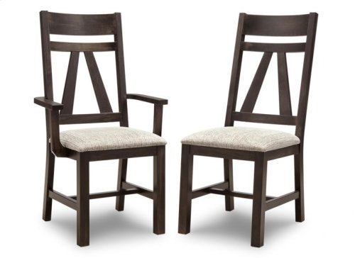 Algoma Side Chair With Wood Seat