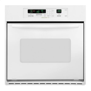 KitchenAidKitchenAid® 24-Inch Convection Single Wall Oven, Architect® Series II Handle - White