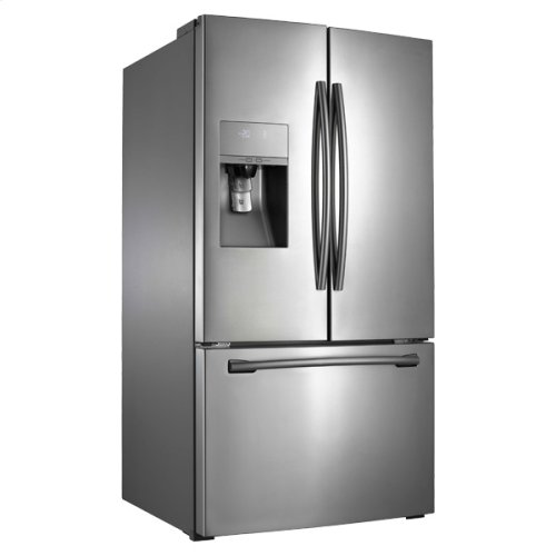 "36"" Wide, 31 cu. ft. French Door Refrigerator, with Dual Ice Maker (Stainless Steel)"