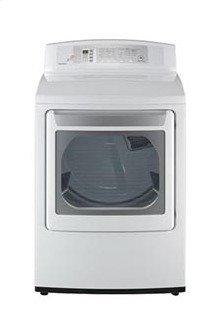 7.1 cu.ft. Large Capacity Dryer with LED Display and Rear Controls (Gas)