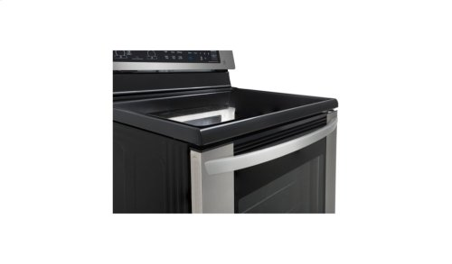 6.3 cu. ft. Electric Single Oven Range with EasyClean®