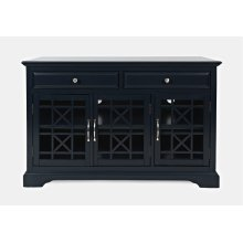"Craftsman 50"" Media Unit - Navy"