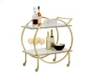 Artemis Bar Cart - White Product Image