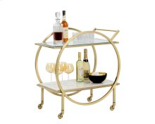 Artemis Bar Cart - White