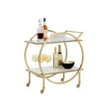 Artemis Bar Cart - White