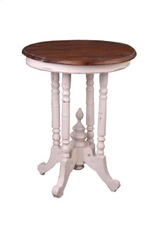 Sunset Trading Cottage Round End Table - Sunset Trading