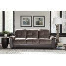 Fully Upholstered Chocolate and Brown Sofa Bed Product Image